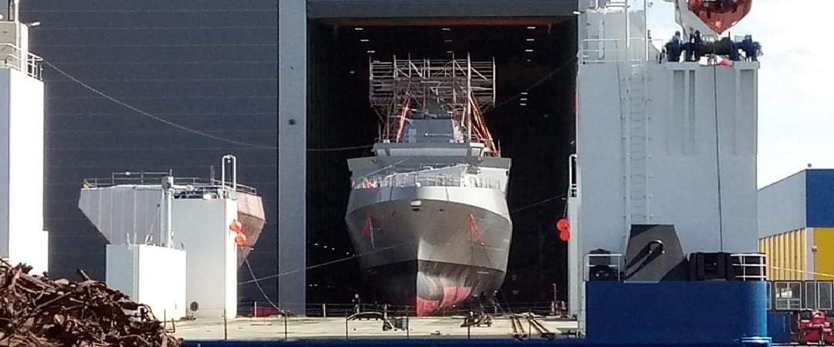 Egypt's Meko-A200EN Frigate to Launch This Week - C4 Defence